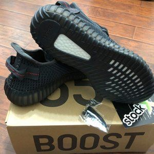 Black. Yeezy Boost 350v2.